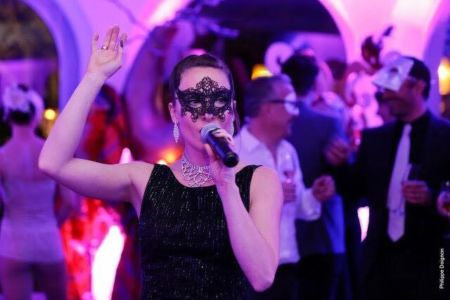 Anne Celine Pic Savary - Bal Masqué Hotel Pigonnet