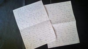 écriture intuitive première expérience